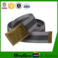 Custom Fashion Polyester Canvas Webbing Belt Manufacturer