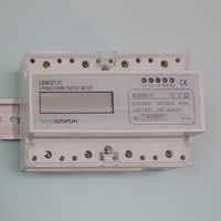 Three phase din rail electric meter,electricity meter