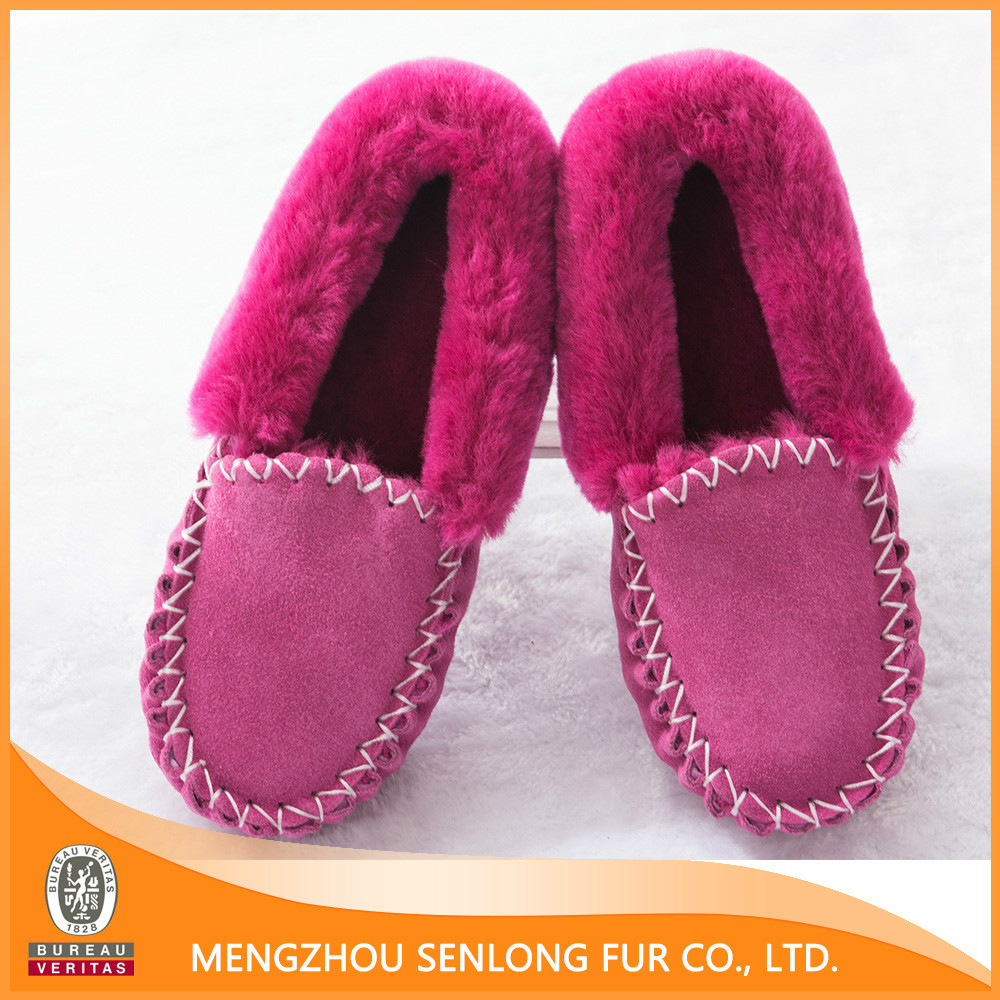 high quality and competitive price genuine sheepskin winter boot