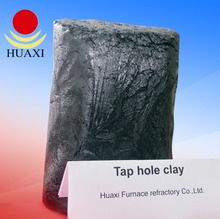 Iron Steel Plant Used Refractory waterless Taphole Clay for Furnace