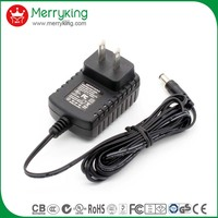 efficiency VI 3v 5v 12v 300ma 1a 1200ma ac dc power adapter with BS US AU EU plugs