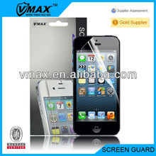 Cheap cell phone accessories for iPhone 5 oem/odm (High Clear)