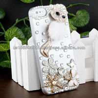 IMPRUE Fauna Fox 3D Crystal Bling Stone Case For Apple Iphone5 With Retailer Package