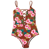 TQSKK Sexy One Piece Swimsuit 2016 Summer Swimming Mesh Bodysuit High Cut Crochet Monokini Swimsuit Swimwear Women Bathing Suit