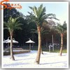 Fake artificial decorative metal palm trees outdoor decorative palm trees metal fiberglass plastic palm tree plants