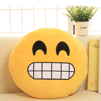 Soft Plush Pillows Embroidery Very Cheap PP Cotton Emoji Pillow Octopus Plush Toy