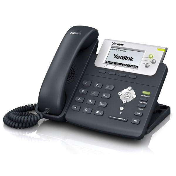 Yealink Enterprise HD IP Phone SIP-T22P