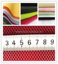 knitted technics sandwich 3d air mesh fabric for home textile / storage