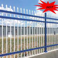cheap garden pool stainless steel fence post design/gates and fences square galvanized fence posts ISO 9001 Factory