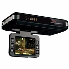 Auto Car Radar Detector VGR-B Dashboard Camera HD Six Video GPS Navigation & Car Video Recorder