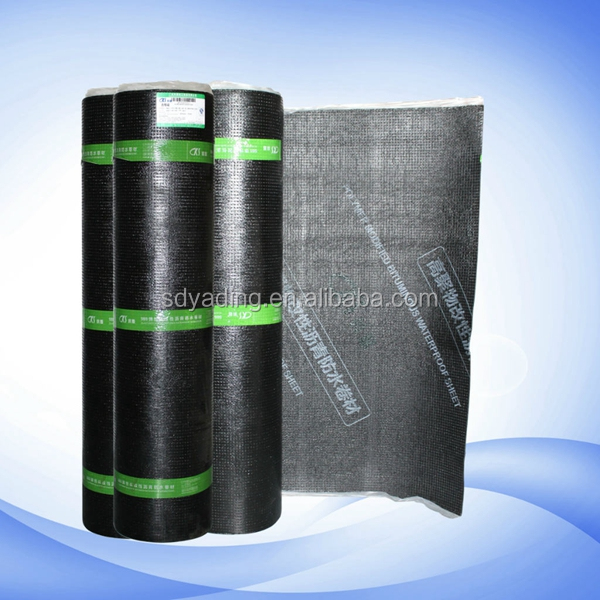 Excellent tensile property SBS modified bitumenous waterproofing sheets