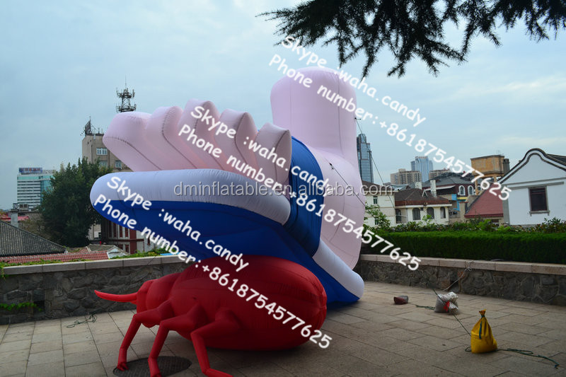 New design inflatable park / event decoration , inflatable foot for advertisement