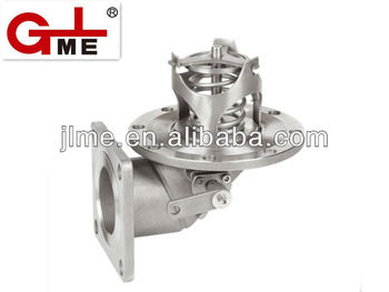 "4"" Stainless Steel Oil Tanker Bottom Valve"