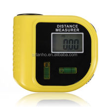 Ultrasonic Laser Digital LCD Tape Measure Range Distance Meter Tool CP-3010