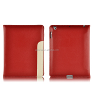 Premium leather vintage elegant PU wallet flip case folio cover with card holder for iPad air 2