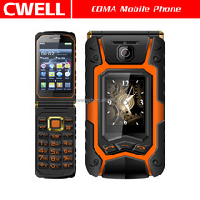 Rover X9 Dual SIM Card Unlocked GSM Quad band Dual Screen 3.5 inch resistive touch screen flip mobile phone