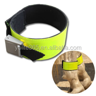 reflective Leg Bands Wraps for Horses ankle band reflector 1