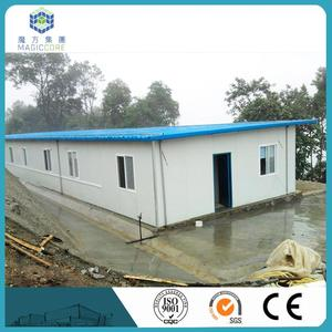 sandwich panel prefab pool house small mobile movable sales pretty well in Cambodia