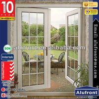 triple Glazing french style fancy entry doors for kitchen