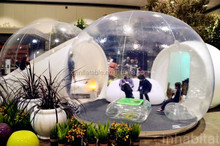 Factory Outlet camping clear inflatable bubble room