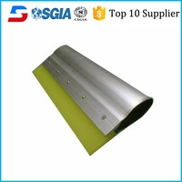 Water based Printing Screen Printing Squeegee with aluminum handle