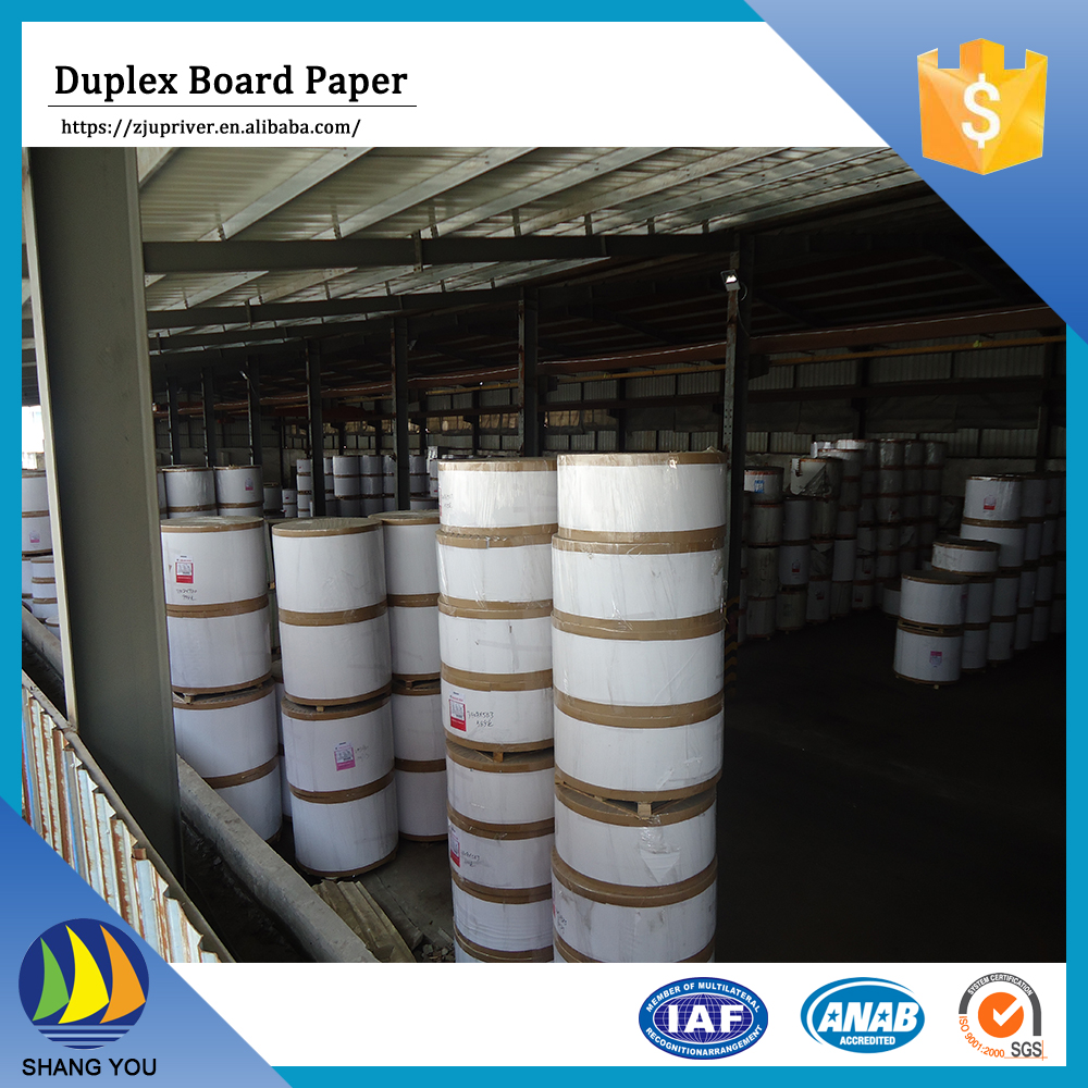 China New Design paper carton coated duplex paper card board