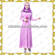 MF21269 Elegant Muslim Party Wear Muslimah Long Dress