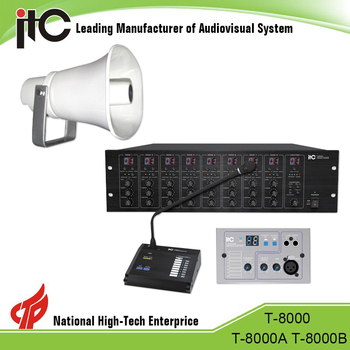 Long warranty amplifire for pa systems,colonel 500 pa system,pa system for hospital