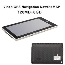 7 inch gps navigation 84h-3 with 8mb And Newest 3D Map