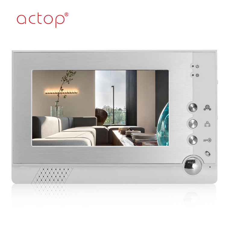 Shenzhen factory ACTOP automatic video door phone with camera video door bell for villa