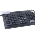 66Keys Programmable keyboard with magnetic card reader and electronic lock