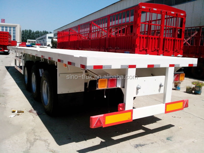 Chinese low price 20ft 40ft container transport semi trailer for sale