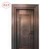 Cheap Standard Door Size Copper Interior Room Door Made in China