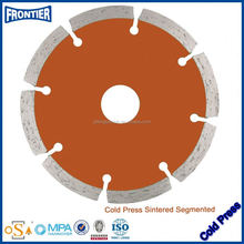 Brazilian Edge Cutting 115mm Segment Diamond Saw Blade