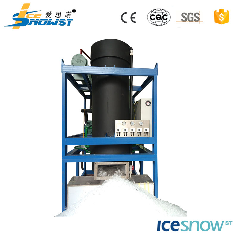 Ocean fishing customized voltage new design tube ice plant