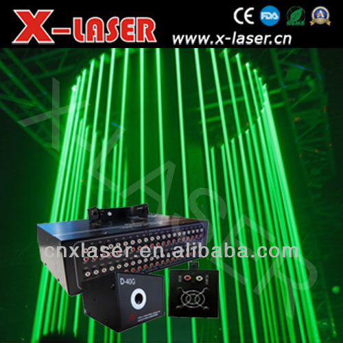 50mW Green laser Rain,indoor or outdoor Disco, night club stage light show