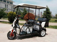 Recreational electric tricycle/E-Rickshaw for family with 3 wheels for passenger for sale