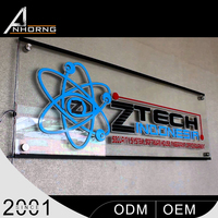 clear acrylic led sign boards , special photo frame design , customized led crystal light box