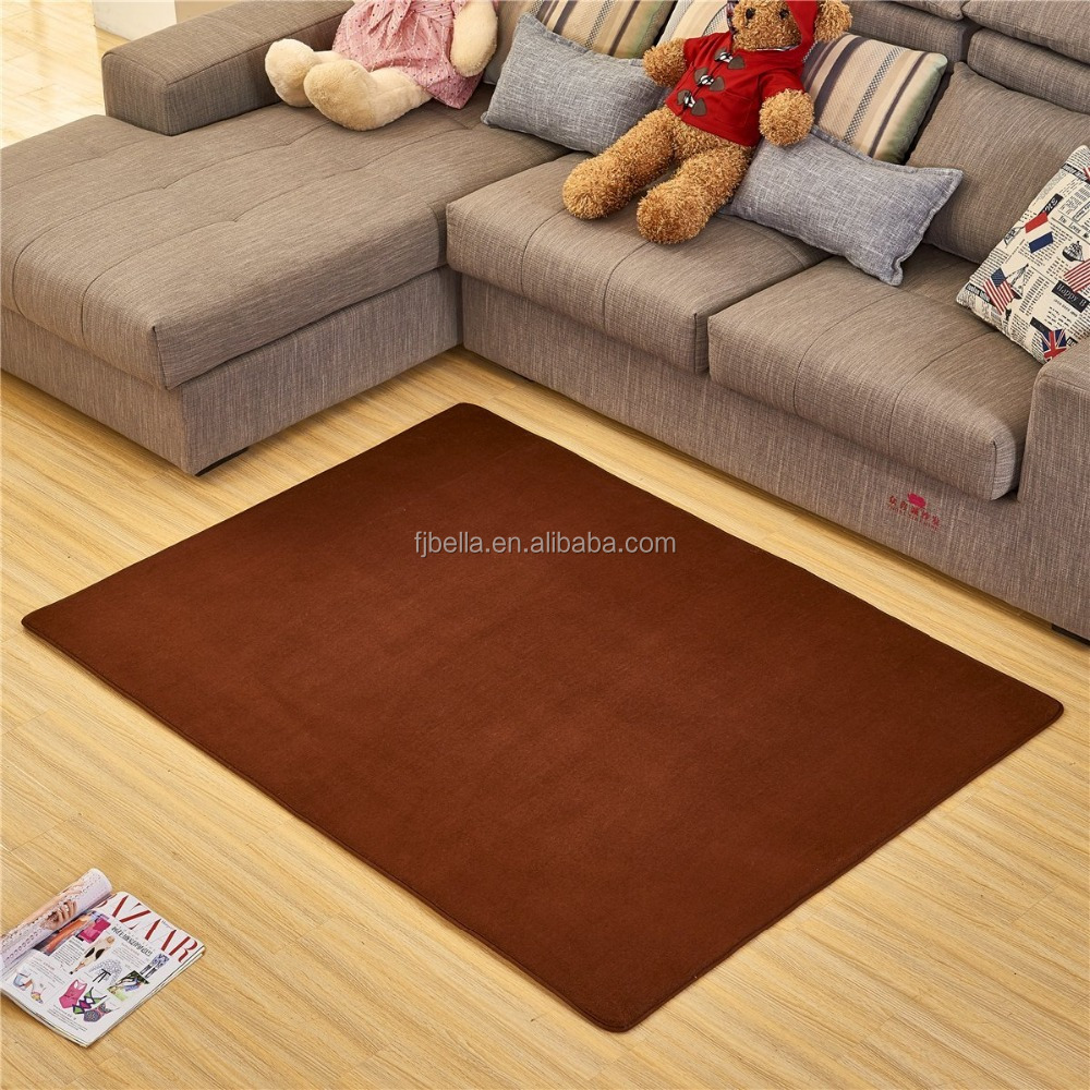 Comfortable Anti-slip Area Rugs Memory Foam Floor Mat Living room carpet