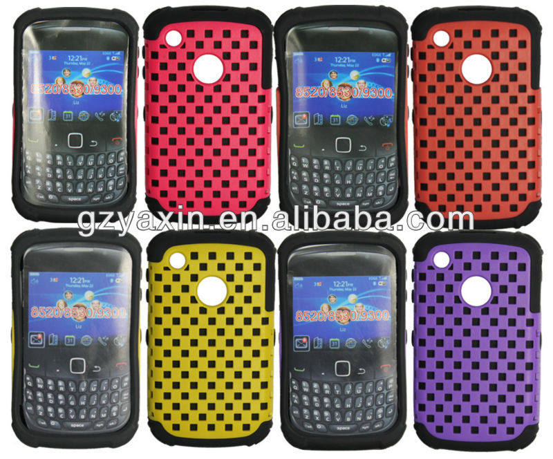 sample avaliable reticulation silicon skin/case for blackberry 9300