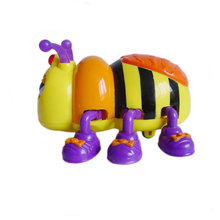 ICTI Movable Plastic Animal Toy/ Wind up Toy Animal