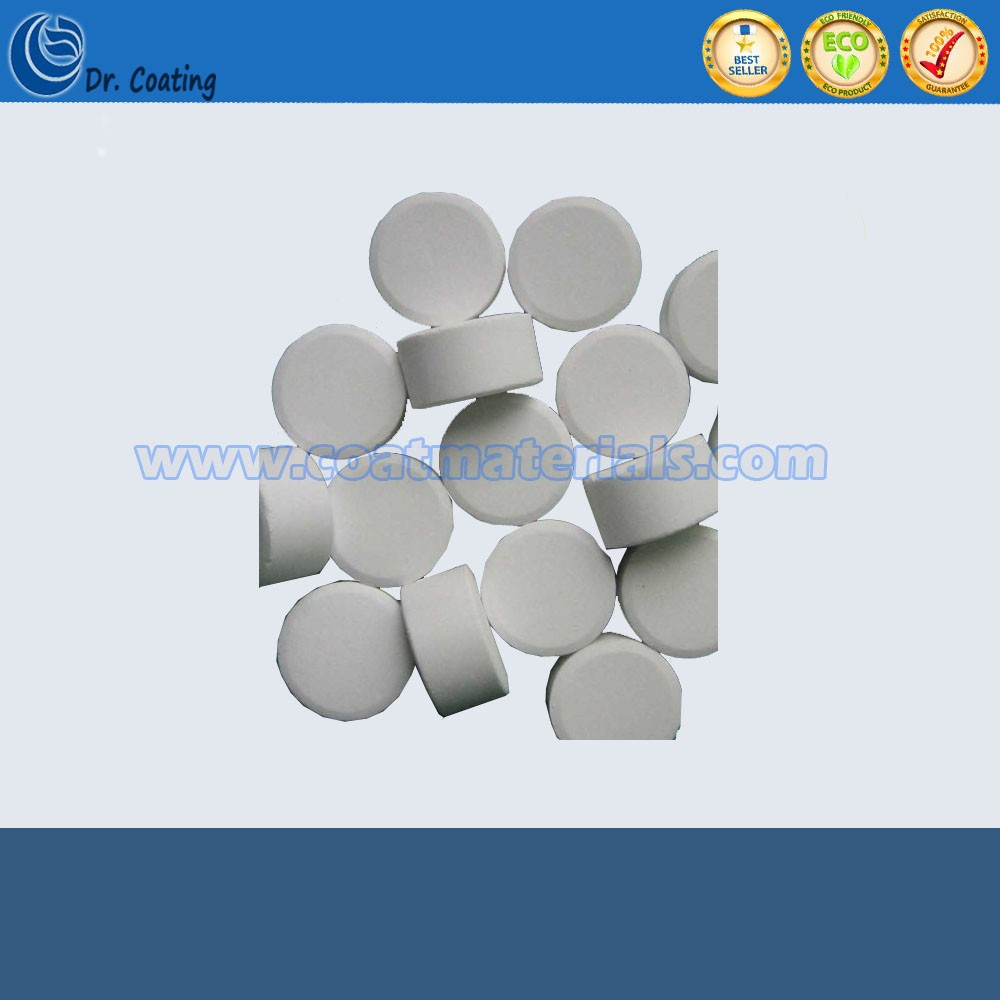 99.99% high purity excellent quality wholesales price Zinc sulfide tablet ZnS tablet