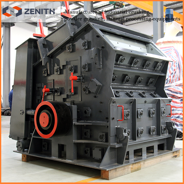 Professional shanghai road construction equipment, impact crusher
