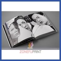 Custom Offset Printing silk bookmark hardcover book printing