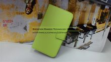 Genuine Leather Wallet Stand Case with Card Slot for Samsung Galaxy Note 2 N7100