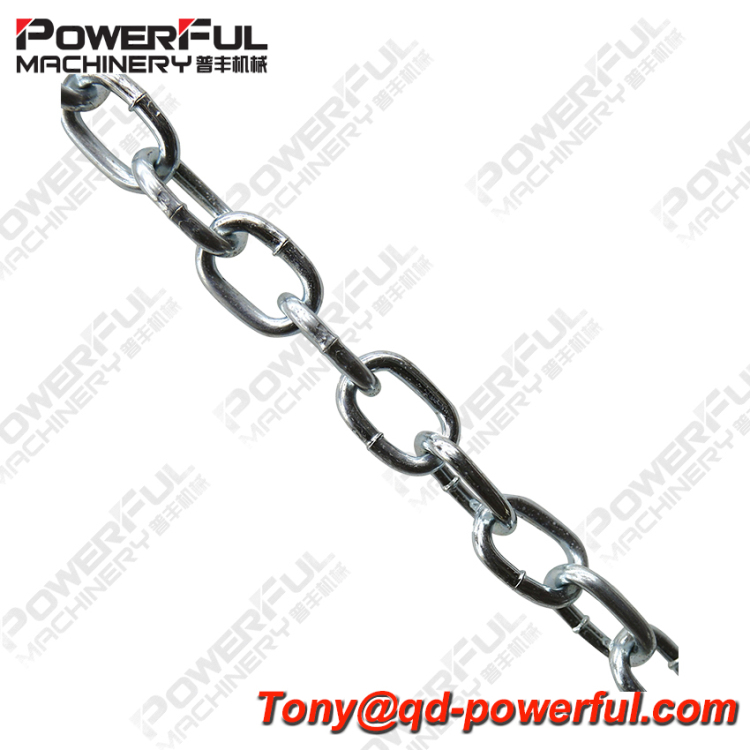 High Quality Best Selling Nacm 1990/2010 Zinc Plated Galvanized Low Carbon Steel Welded Passing Open Link Chain