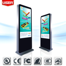 55 inch ipad stand lcd display advertising kiosk machine