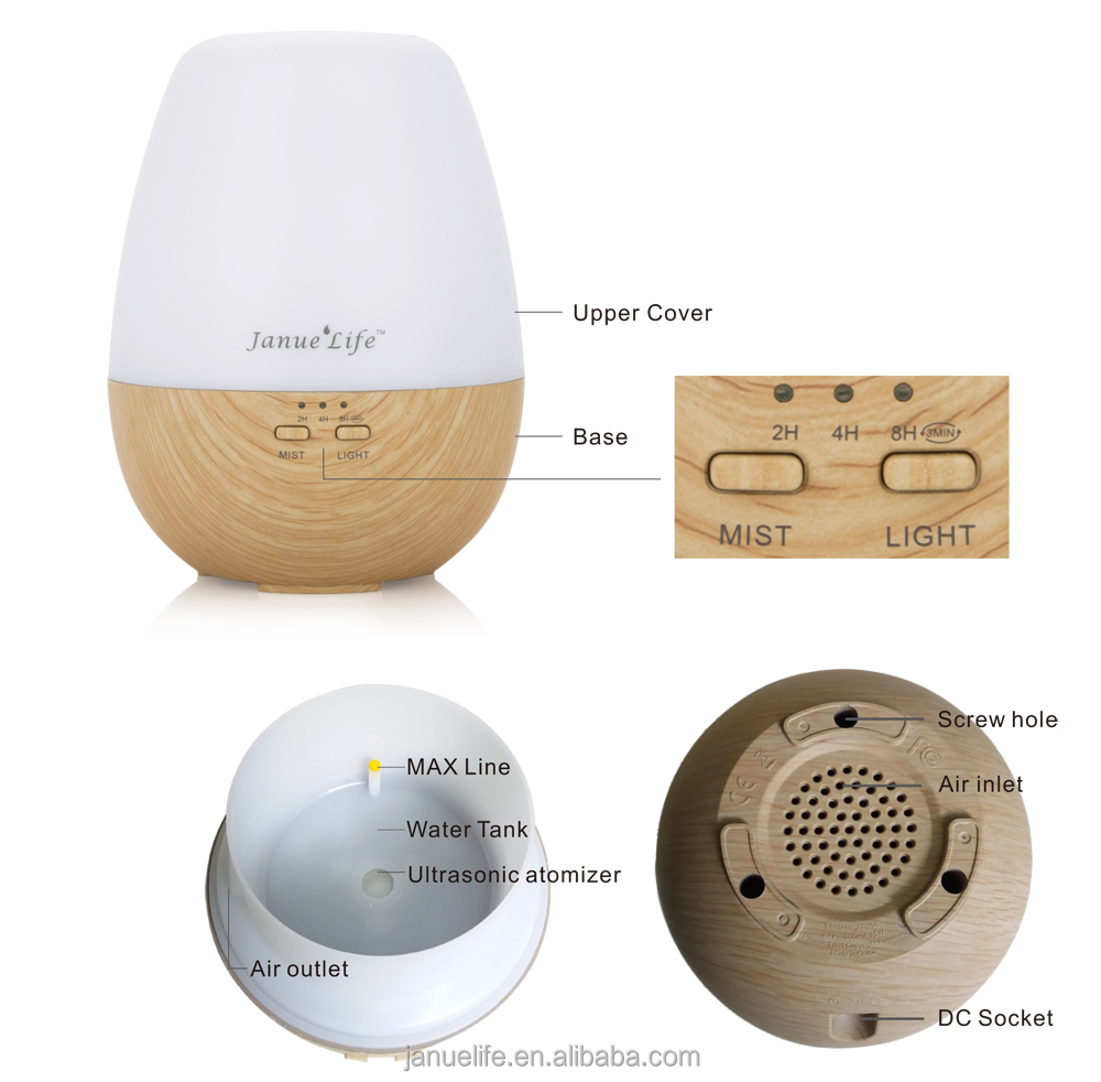 Original Factory DIRECT Supply Wholesale Aromatherapy Diffuser 200ml High Quality air Humidifier Ultrasonic Aroma Diffuser