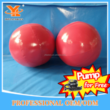 Customized Sphere Shape Paintball Obstacle Game, Cheap Inflatable Bunkers Ball