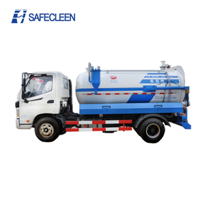 Foton sewage tanker truck fecal suction vehicle sewage suction truck